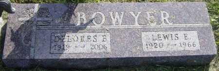 BOWYER, LEWIS E - Lincoln County, South Dakota | LEWIS E BOWYER - South Dakota Gravestone Photos