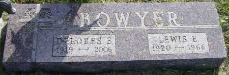 BOWYER, LEWIS E - Lincoln County, South Dakota | LEWIS E BOWYER - South Dakota Gravestone Photos