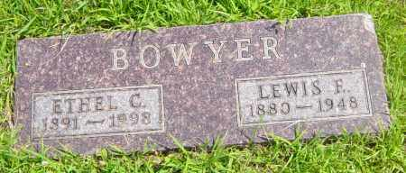 BOWYER, ETHEL C - Lincoln County, South Dakota   ETHEL C BOWYER - South Dakota Gravestone Photos
