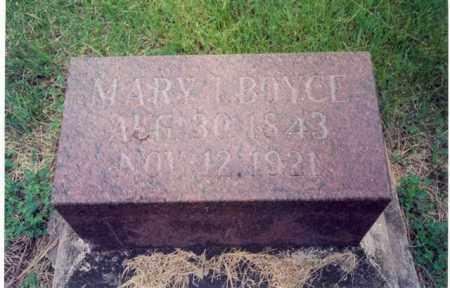 OLIVER BOYCE, MARY INEZ - Lincoln County, South Dakota | MARY INEZ OLIVER BOYCE - South Dakota Gravestone Photos