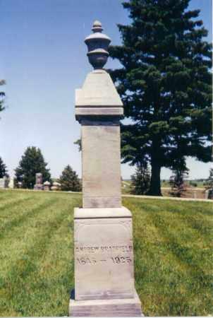 BRADFIELD, ANDREW - Lincoln County, South Dakota | ANDREW BRADFIELD - South Dakota Gravestone Photos