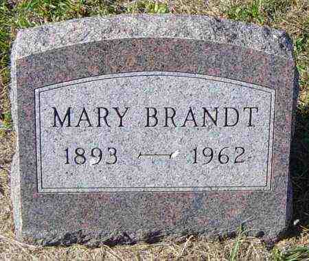 BRANDT, MARY - Lincoln County, South Dakota | MARY BRANDT - South Dakota Gravestone Photos