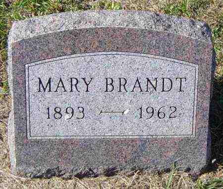 BRANDT, MARY - Lincoln County, South Dakota | MARY BRANDT - South Dakota Gravestone Photos