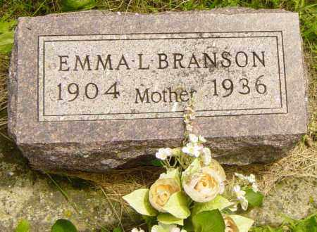 BRANSON, EMMA L - Lincoln County, South Dakota | EMMA L BRANSON - South Dakota Gravestone Photos