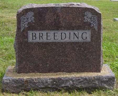 BREEDING FAMILY MEMORIAL, GEORGE W - Lincoln County, South Dakota | GEORGE W BREEDING FAMILY MEMORIAL - South Dakota Gravestone Photos