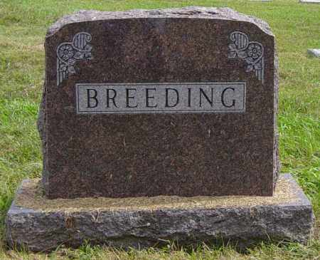 BREEDING FAMILY MEMORIAL, GEORGE W - Lincoln County, South Dakota   GEORGE W BREEDING FAMILY MEMORIAL - South Dakota Gravestone Photos
