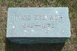 BRENNER, DAVID - Lincoln County, South Dakota   DAVID BRENNER - South Dakota Gravestone Photos