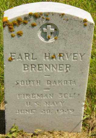 BRENNER, EARL HARVEY - Lincoln County, South Dakota | EARL HARVEY BRENNER - South Dakota Gravestone Photos