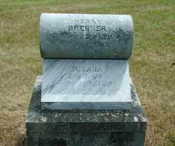 YORDY BRENNER, SUSANA ANN - Lincoln County, South Dakota | SUSANA ANN YORDY BRENNER - South Dakota Gravestone Photos