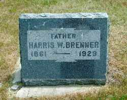 BRENNER, HARIS - Lincoln County, South Dakota | HARIS BRENNER - South Dakota Gravestone Photos