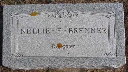 BRENNER, NELLIE E. - Lincoln County, South Dakota   NELLIE E. BRENNER - South Dakota Gravestone Photos