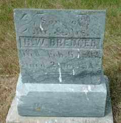 BRENNER, RALPH W - Lincoln County, South Dakota | RALPH W BRENNER - South Dakota Gravestone Photos