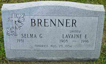 """BRENNER, LAVAINE E """"SHINNY"""" - Lincoln County, South Dakota 