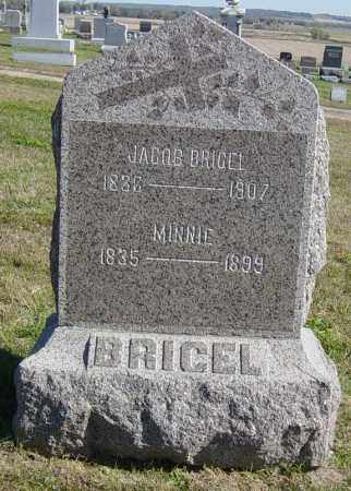 BRIGEL, MINNIE - Lincoln County, South Dakota | MINNIE BRIGEL - South Dakota Gravestone Photos