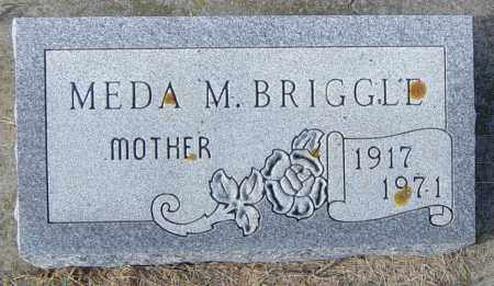 BRIGGLE, MEDA M - Lincoln County, South Dakota | MEDA M BRIGGLE - South Dakota Gravestone Photos