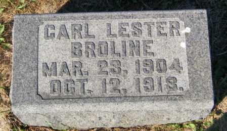 BROLINE, CARL LESTER - Lincoln County, South Dakota | CARL LESTER BROLINE - South Dakota Gravestone Photos