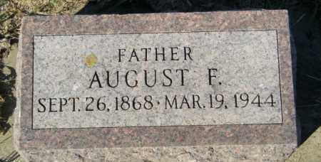 BROLINE, AUGUST F - Lincoln County, South Dakota | AUGUST F BROLINE - South Dakota Gravestone Photos