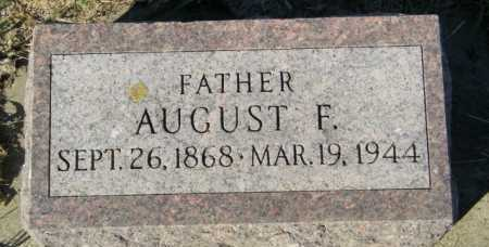 BROLINE, AUGUST F - Lincoln County, South Dakota   AUGUST F BROLINE - South Dakota Gravestone Photos