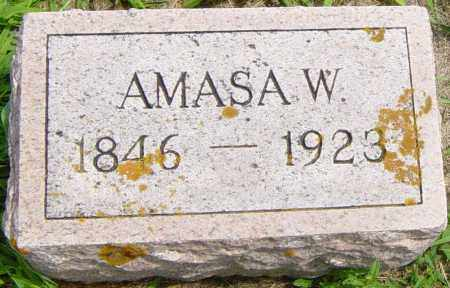 BROWN, AMASA W - Lincoln County, South Dakota | AMASA W BROWN - South Dakota Gravestone Photos