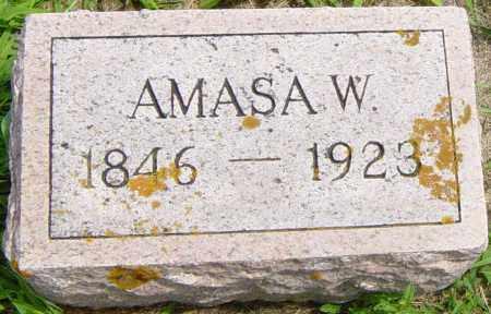 BROWN, AMASA W - Lincoln County, South Dakota   AMASA W BROWN - South Dakota Gravestone Photos