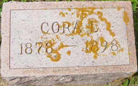 BROWN, CORA L - Lincoln County, South Dakota | CORA L BROWN - South Dakota Gravestone Photos
