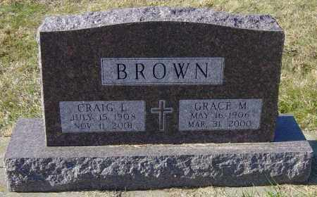 BROWN, GRACE M - Lincoln County, South Dakota | GRACE M BROWN - South Dakota Gravestone Photos