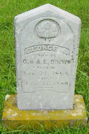 BROWN, GEORGE I - Lincoln County, South Dakota | GEORGE I BROWN - South Dakota Gravestone Photos