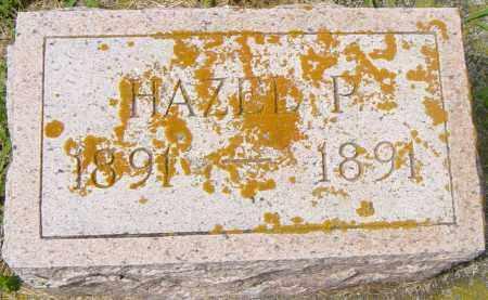 BROWN, HAZEL P - Lincoln County, South Dakota   HAZEL P BROWN - South Dakota Gravestone Photos