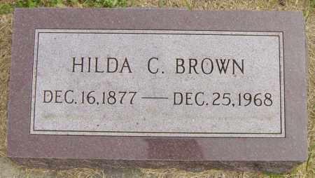 BROWN, HILDA C - Lincoln County, South Dakota | HILDA C BROWN - South Dakota Gravestone Photos
