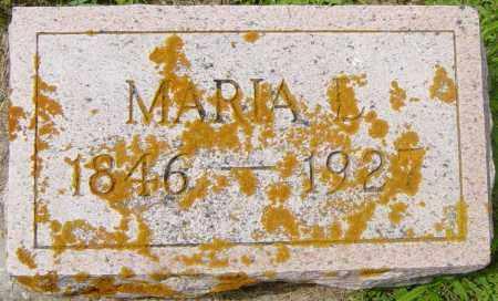 BROWN, MARIA L - Lincoln County, South Dakota | MARIA L BROWN - South Dakota Gravestone Photos