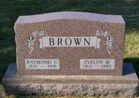 BROWN, RAYMOND C - Lincoln County, South Dakota | RAYMOND C BROWN - South Dakota Gravestone Photos