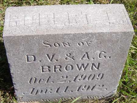 BROWN, ROBERT - Lincoln County, South Dakota | ROBERT BROWN - South Dakota Gravestone Photos