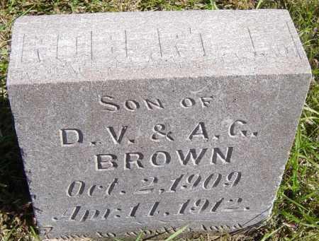 BROWN, ROBERT - Lincoln County, South Dakota   ROBERT BROWN - South Dakota Gravestone Photos