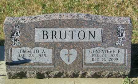 BRUTON, GENEVIEVE E - Lincoln County, South Dakota | GENEVIEVE E BRUTON - South Dakota Gravestone Photos