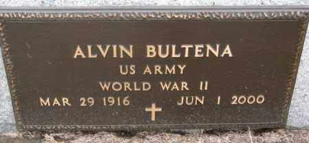 BULTENA, ALVIN (WW II) - Lincoln County, South Dakota | ALVIN (WW II) BULTENA - South Dakota Gravestone Photos