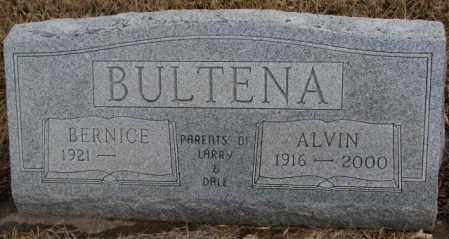 BULTENA, ALVIN - Lincoln County, South Dakota | ALVIN BULTENA - South Dakota Gravestone Photos