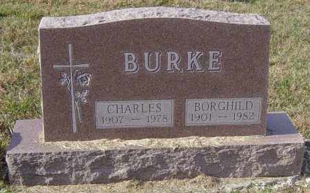 BURKE, BORGHILD - Lincoln County, South Dakota | BORGHILD BURKE - South Dakota Gravestone Photos