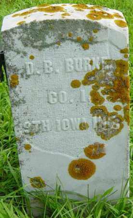 BURKE, D B - Lincoln County, South Dakota | D B BURKE - South Dakota Gravestone Photos