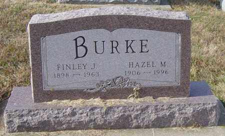 BURKE, FINLEY J - Lincoln County, South Dakota   FINLEY J BURKE - South Dakota Gravestone Photos