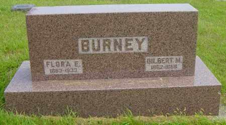 BURNEY, FLORA E - Lincoln County, South Dakota | FLORA E BURNEY - South Dakota Gravestone Photos