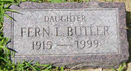 MILLER BUTLER, FERN L - Lincoln County, South Dakota | FERN L MILLER BUTLER - South Dakota Gravestone Photos