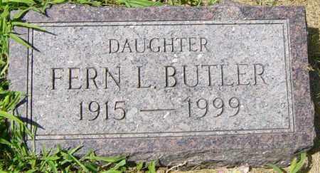 BUTLER, FERN L - Lincoln County, South Dakota | FERN L BUTLER - South Dakota Gravestone Photos
