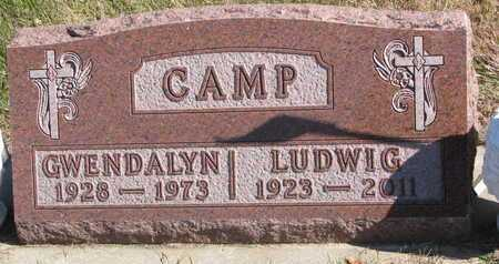 CAMP, GWENDALYN - Lincoln County, South Dakota | GWENDALYN CAMP - South Dakota Gravestone Photos