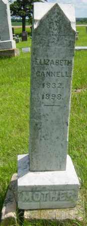 CANNELL, ELIZABETH - Lincoln County, South Dakota | ELIZABETH CANNELL - South Dakota Gravestone Photos