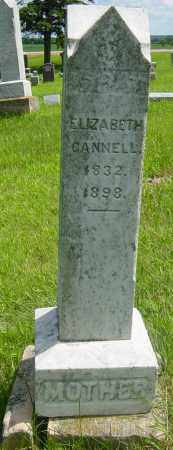 CANNELL, ELIZABETH - Lincoln County, South Dakota | ELIZABETH CANNELL - South Dakota Gravestone Photos
