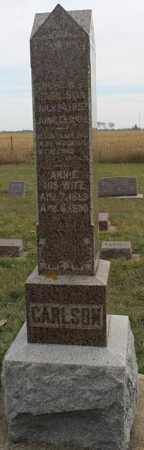 CARLSON, ANDREW - Lincoln County, South Dakota | ANDREW CARLSON - South Dakota Gravestone Photos