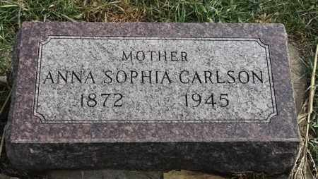 CARLSON, ANNA SOPHIA - Lincoln County, South Dakota | ANNA SOPHIA CARLSON - South Dakota Gravestone Photos