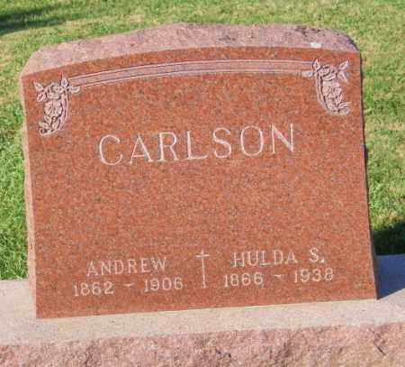 CARLSON, ANDREW - Lincoln County, South Dakota | ANDREW CARLSON - South Dakota Gravestone Photos