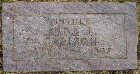 CARLSON, ANNA E - Lincoln County, South Dakota   ANNA E CARLSON - South Dakota Gravestone Photos