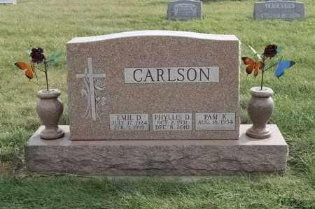 CARLSON, EMIL D - Lincoln County, South Dakota | EMIL D CARLSON - South Dakota Gravestone Photos